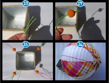 DIY Globo aerostático