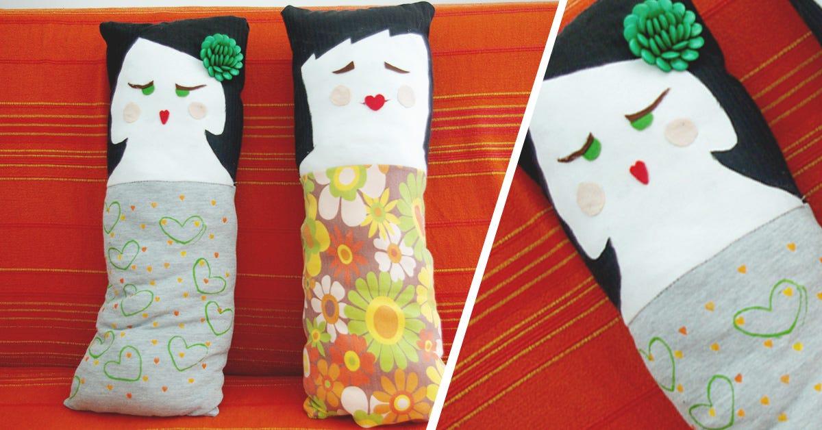 DIY Cojines de muñecas