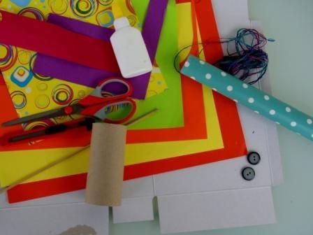 DIY Marioneta de pajarillo