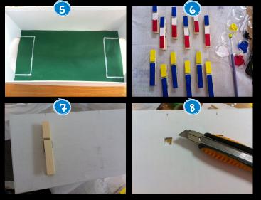 DIY Futbolín
