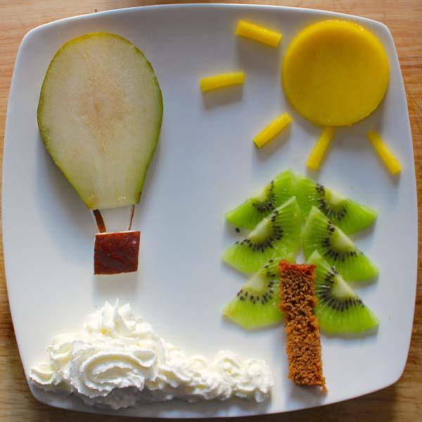 Comer despierta la creatividad