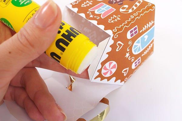 DIY Casita caja