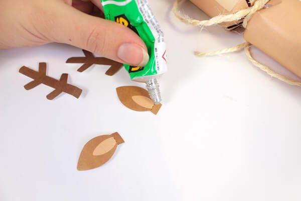 Plantillas descargables de crackers navideños.