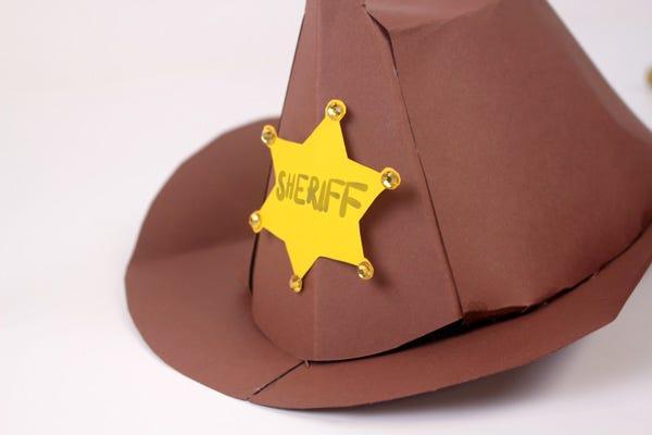 DIY disfraz Sheriff