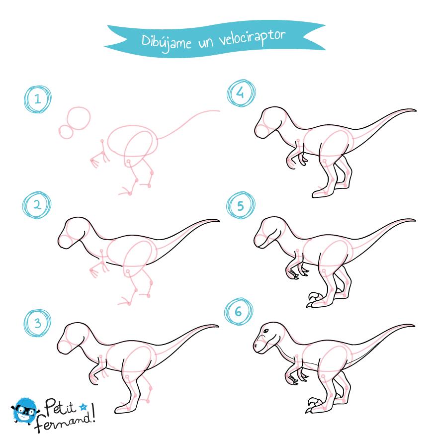 diseño de velociraptor