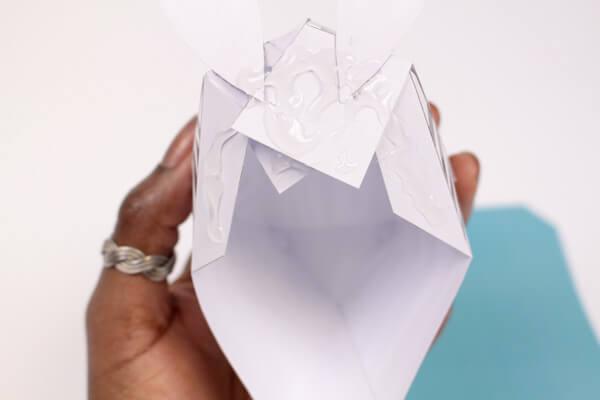 Trofeo origami imprimible