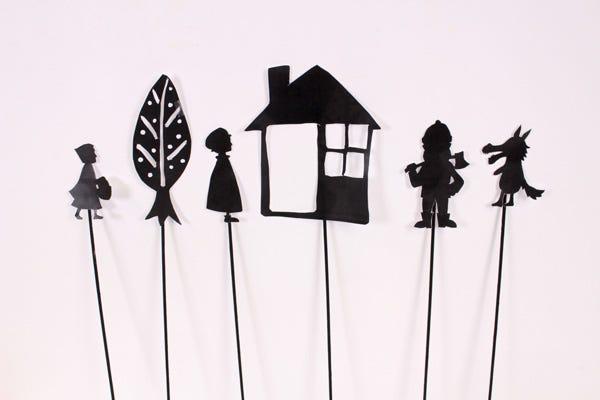 Teatro de sombras chinescas diy para niños