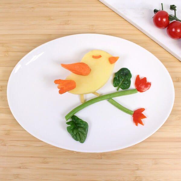 funfood de verduras