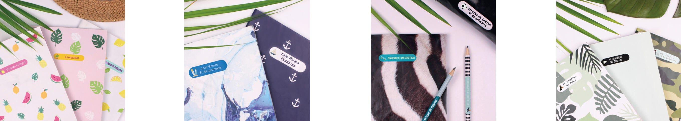 personaliza cada etiqueta con el multipack