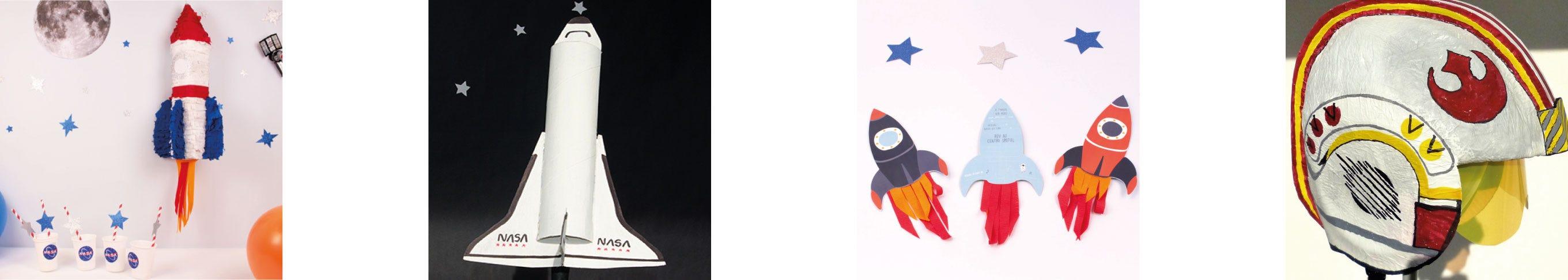 talleres DIY para niños sobre el espacio