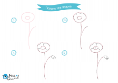 aprende a dibujar una amapola
