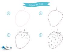 dibuja paso a paso una fresa