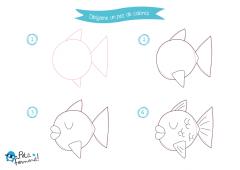 Enseña a dibujar a tus pequeños sus mascotas preferidas con nuestras plantillas gratuitas disponibles