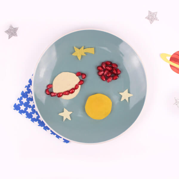 Funfood galáctico para niños