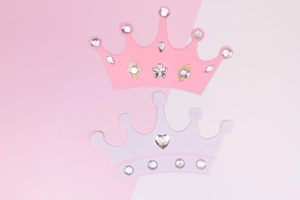 Tarjetas de cumpleaños con temática de princesas