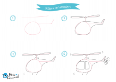 Aprende a dibujar los aviones
