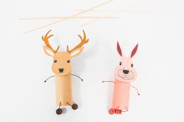 Marionetas Bosque DIY