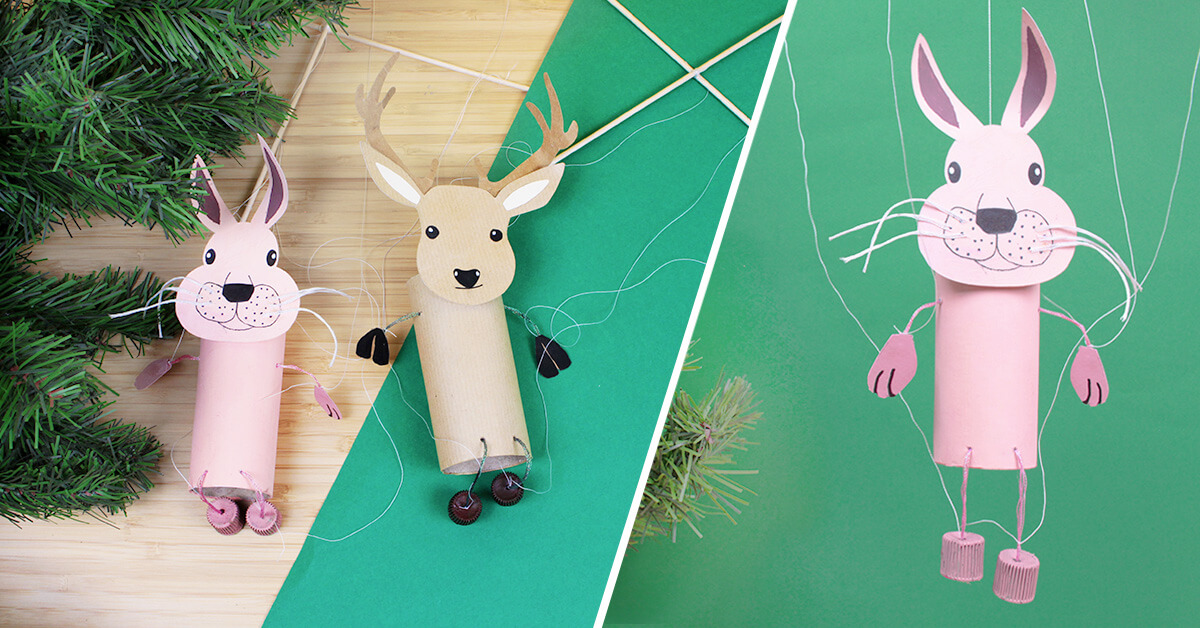 Marionetas Bosque DIY