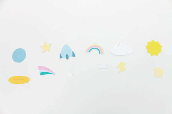 Clips adornados para hacer de marca-páginas.