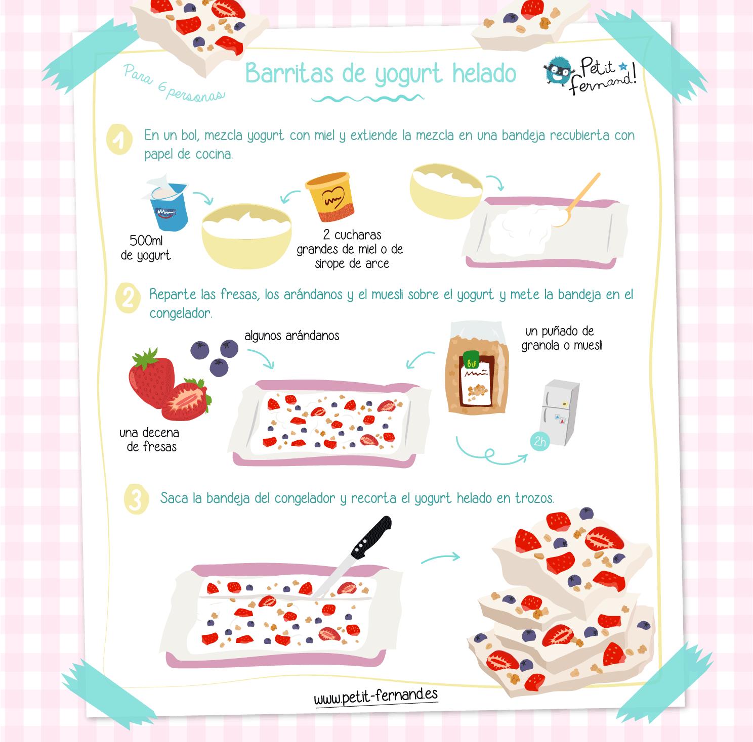 ¡Realiza fácilmente esta receta sana y refrescante!