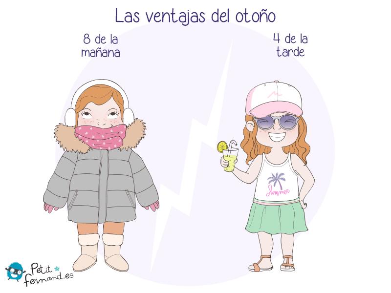 ¡En otoño es un desafío saber vestirse!