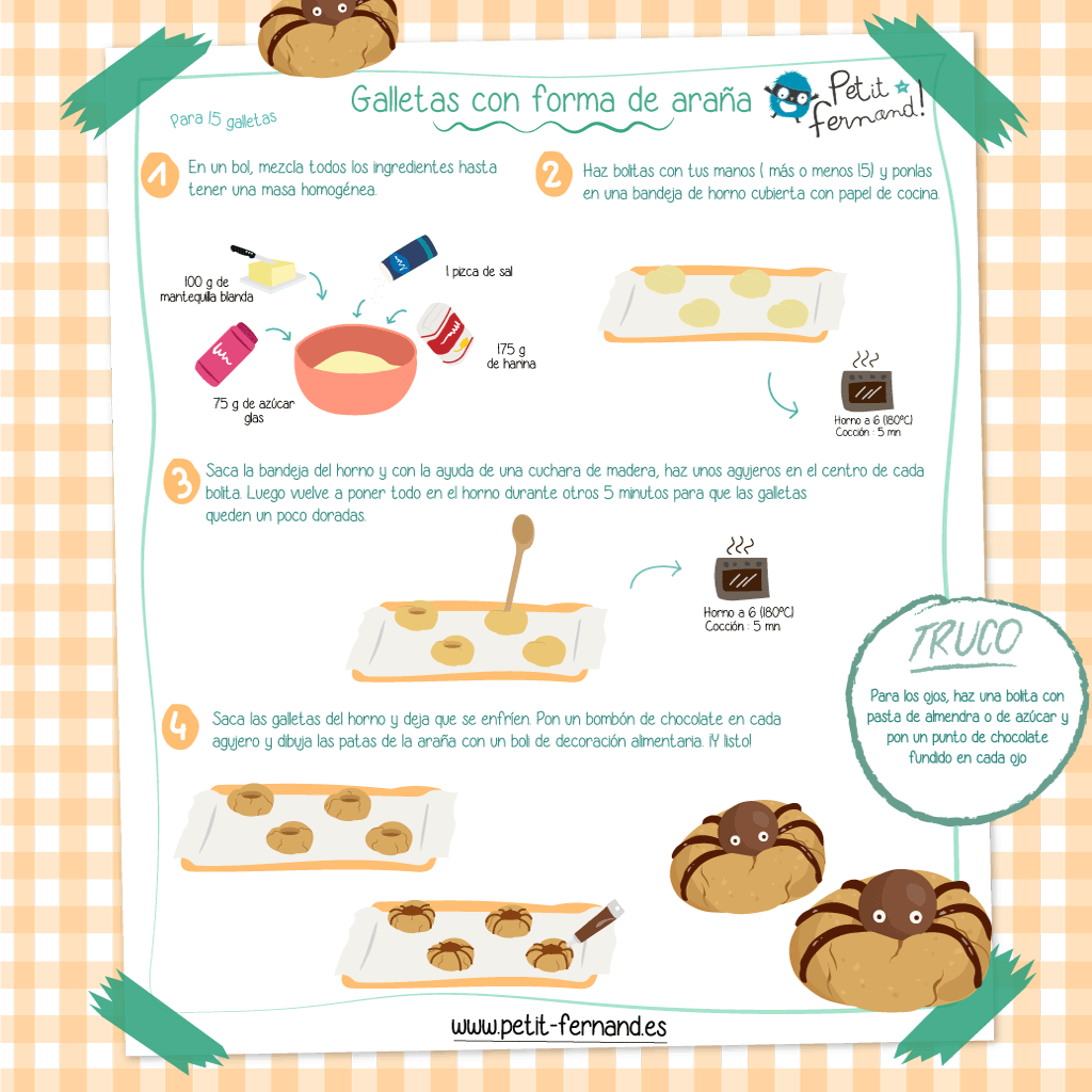 ¡Realiza esta receta perfecta para Halloween!
