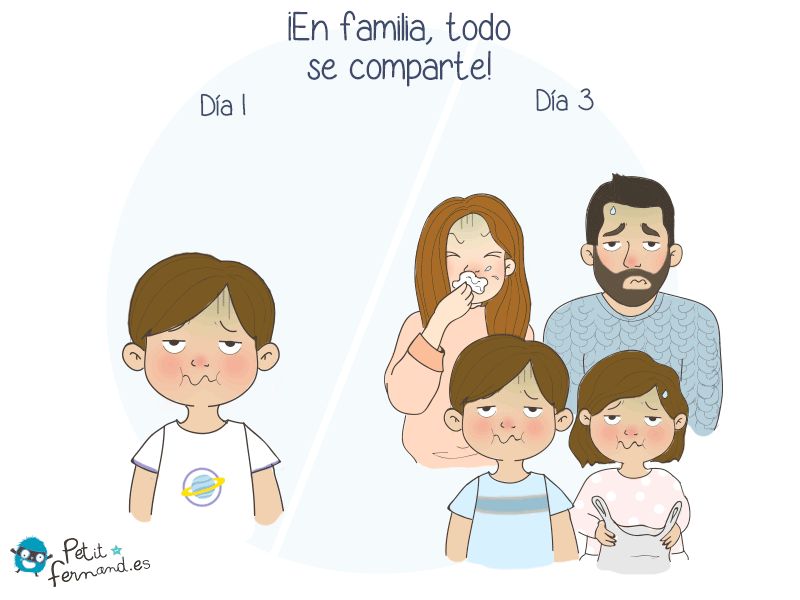 ¡En familia todo se comparte!