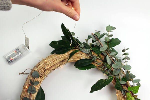 ¡Una idea de decoración genial para las fiestas!