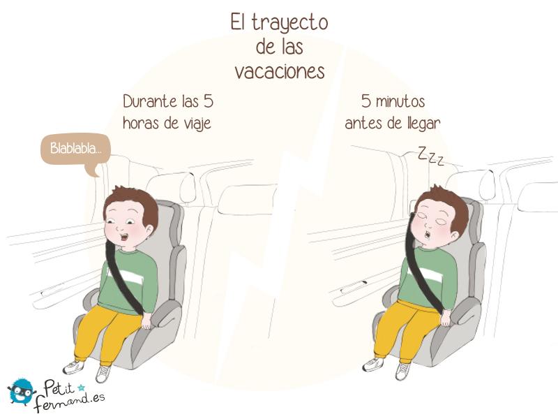 Los viajes en coche
