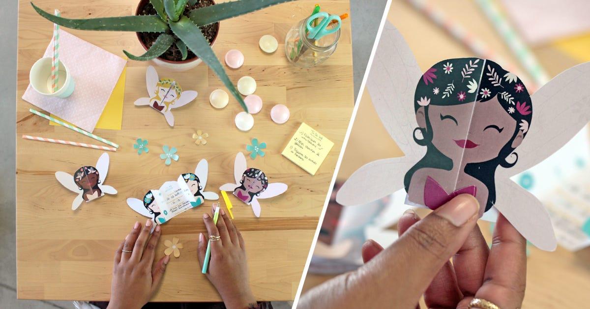 ¡Crea tus invitaciones de haadas para tu cumpleaños con nuestro DIY!