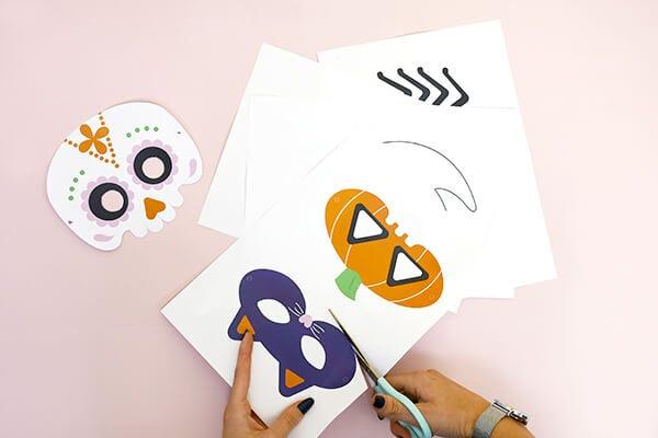 ¡Máscaras de Halloween terroríficas para conseguir el máximo de dulces!