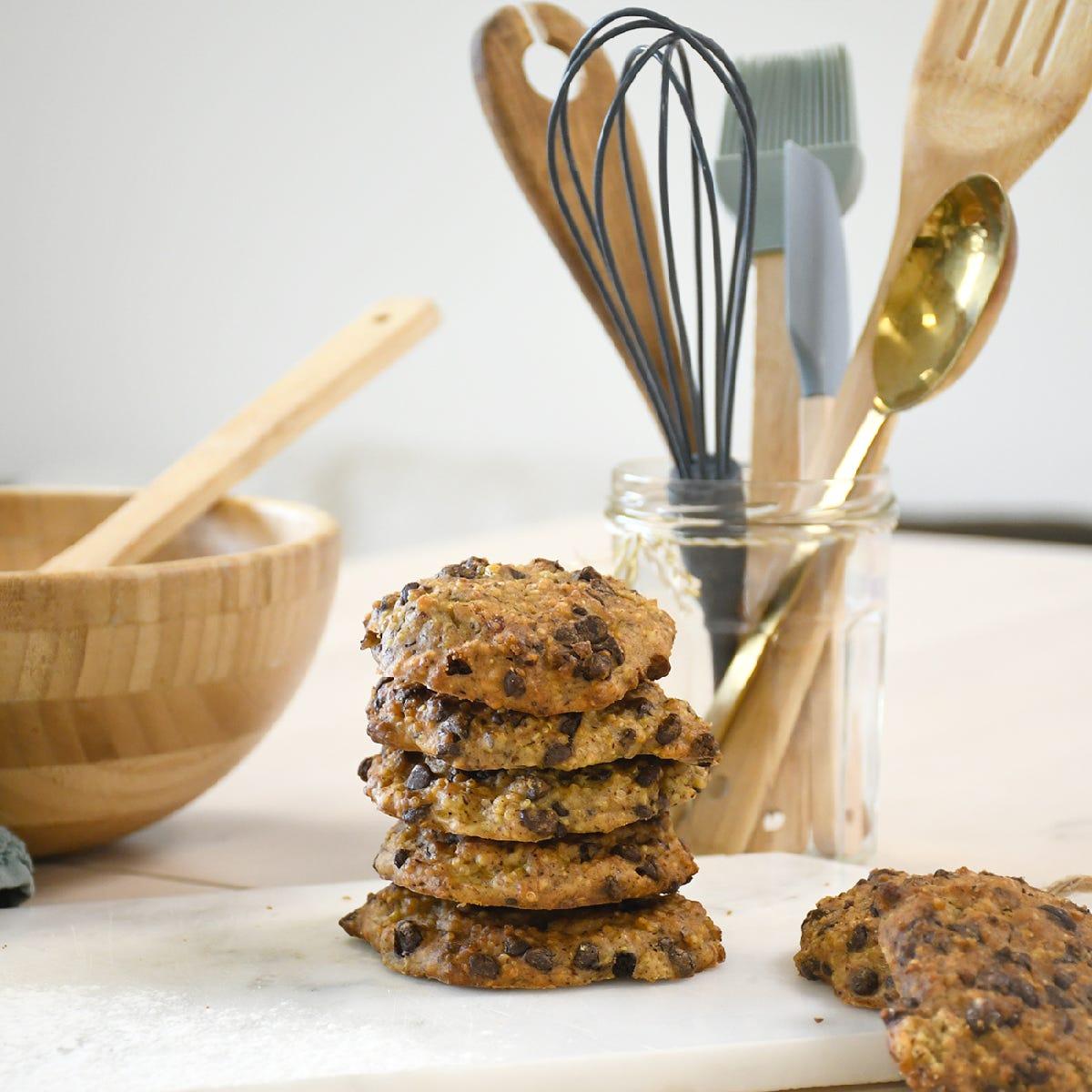 ¡Cambia de las galletas tradicionales con nuestra receta de galletas de quinoa con chocolate!