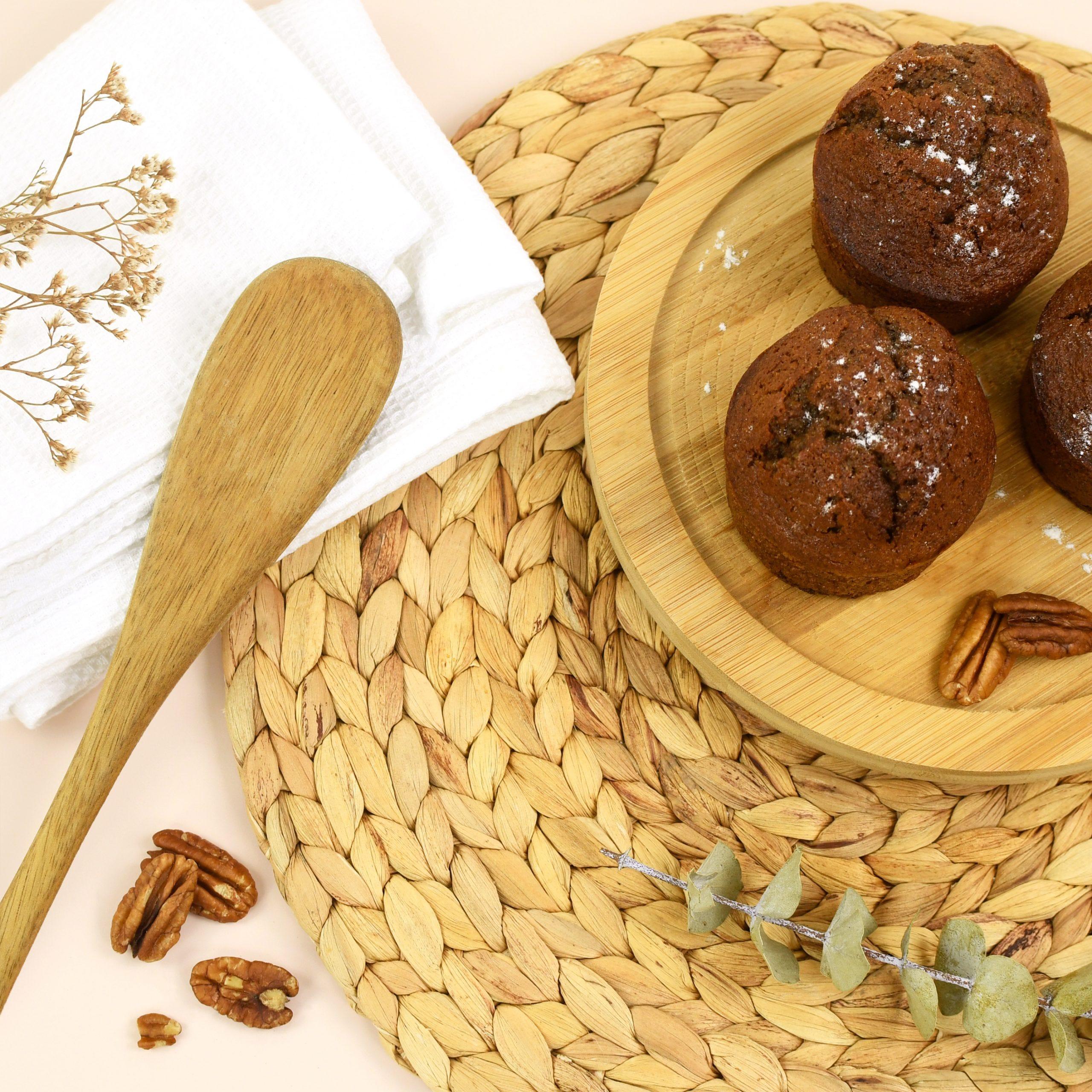¡No hay más escusas para privarse de esta saludable y sabrosa receta de muffins!