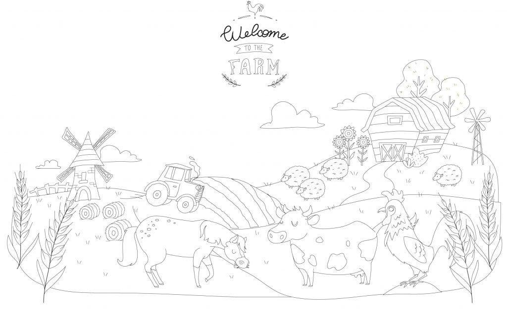 ¡Muestra a tus hijos/as el mundo de la granja con nuestros dibujos y tutoriales para descargar gratis!